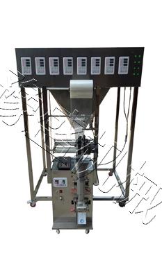 八种/六种物料混合包装机