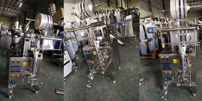 全自动颗粒包装机实拍图